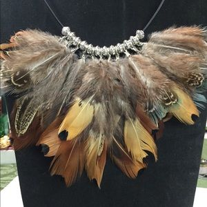Dagwan Designs Feather Necklace